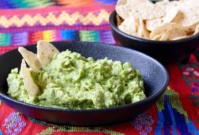 Easy Guatemalan Guacamole A Taste For Travel