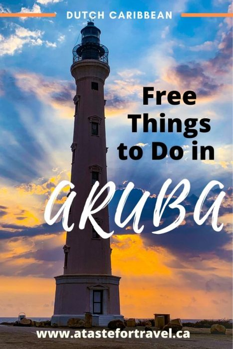 Free things to do in Aruba Pin