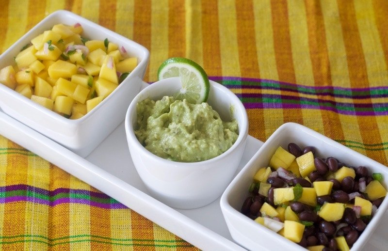 Recipe for Guatemalan appetizers and dips