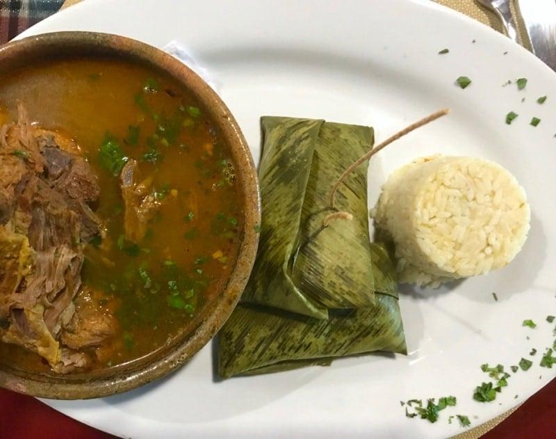 Kack ik turkey soup in Coban Folkloric Festival