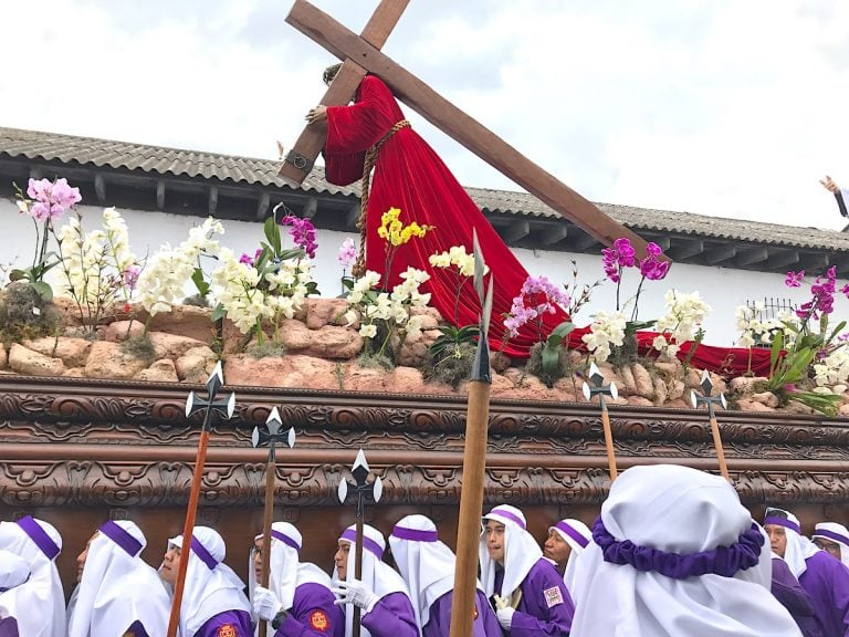 Semana Santa is one of the best Guatemala Festivals