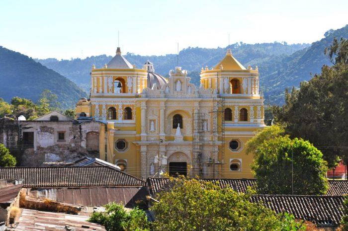 Iglesia de la Merced Antigua Guatemala