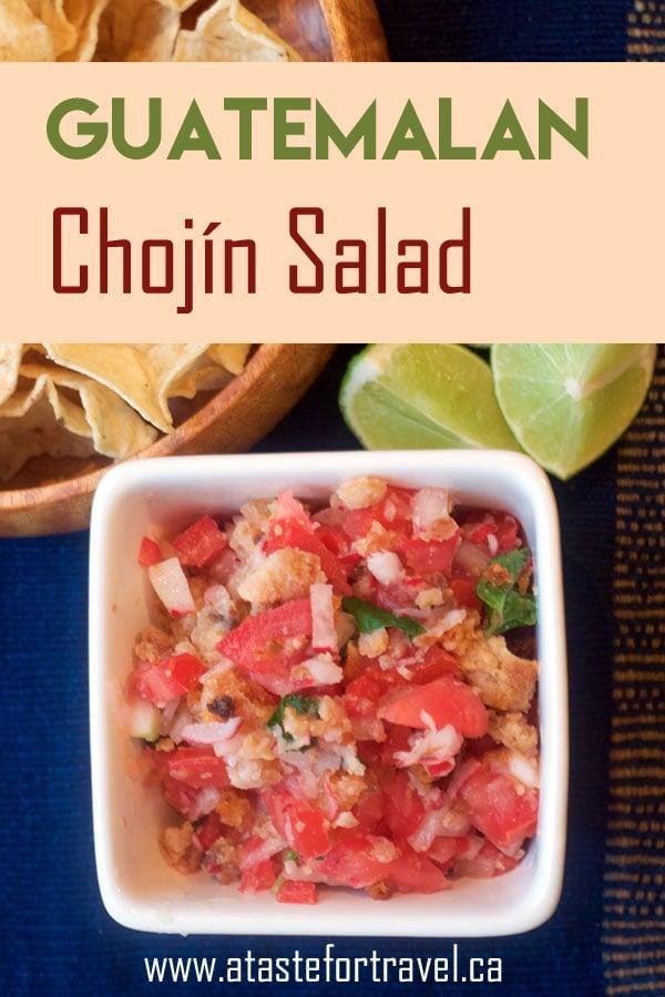 chojin-Guatemalan salad