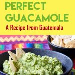This quick and easy Guatemalan recipe for authentic Guatemalan guacamole is the perfect party appetizer