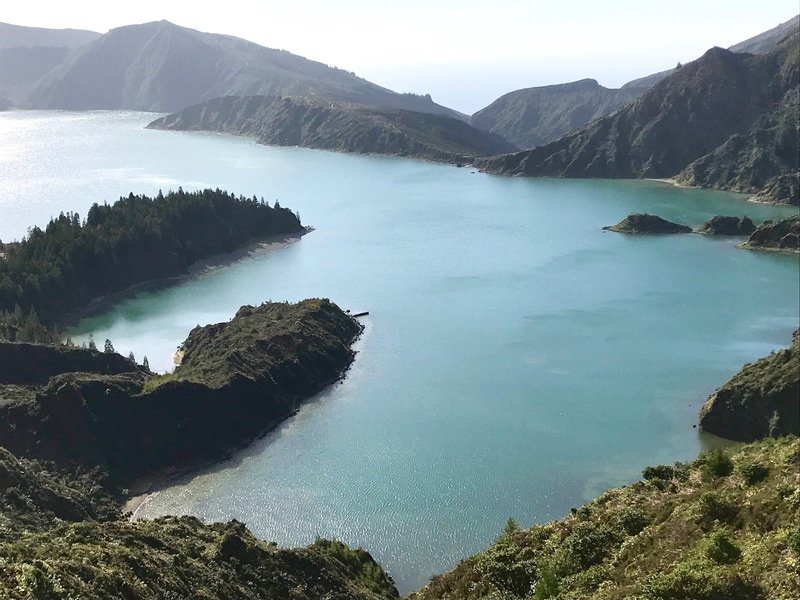 The island of Sao Miguel is home to several crater lakes each with their own unique beauty Credit Francisco Javier Sanchez