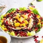 Ensalada de NocheBuena is a traditional Christmas Eve salad in Mexico