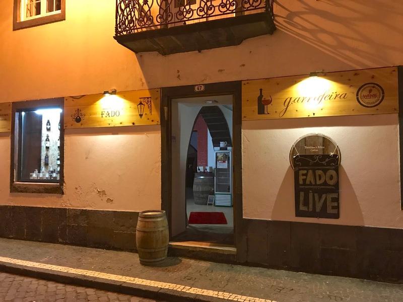 Enjoy dinner and live Fado music at Casa do Bacalhau