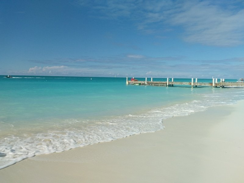 Grace Bay Beach Providenciales Turks and Caicos Credit Sherel Purcell Active City Travel