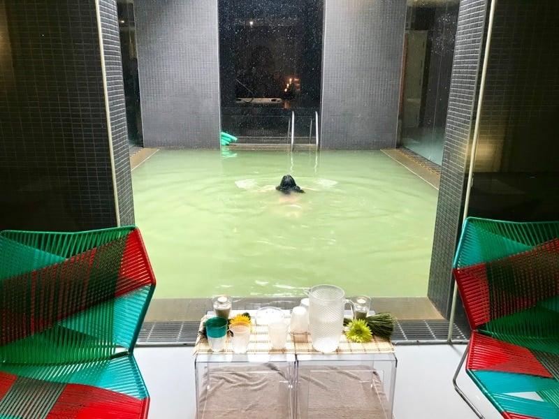 Termas da Ferraria, a full service spa on Sao Miguel