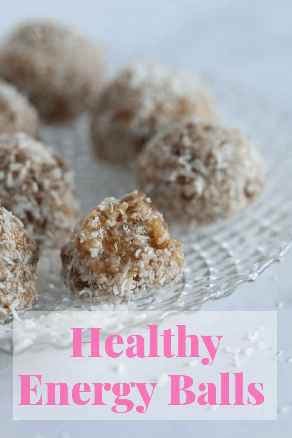 This easy no-bake recipe for Healthy Recipe Balls is packed with delicious goodness including essential minerals and features dates, tahini and coconut. Whip up a batch for a source of energy for the whole week. #vegan