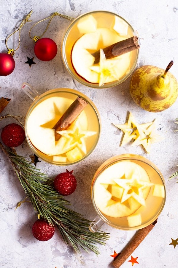 Mexican Hot Fruit Punch - Ponche de Frutas