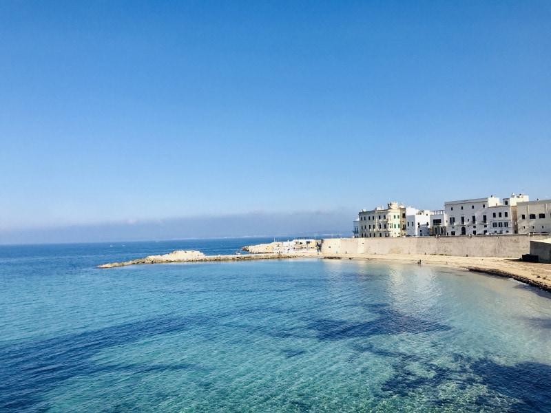 Spiaggia della Puritate beach in Gallipoli, Puglia