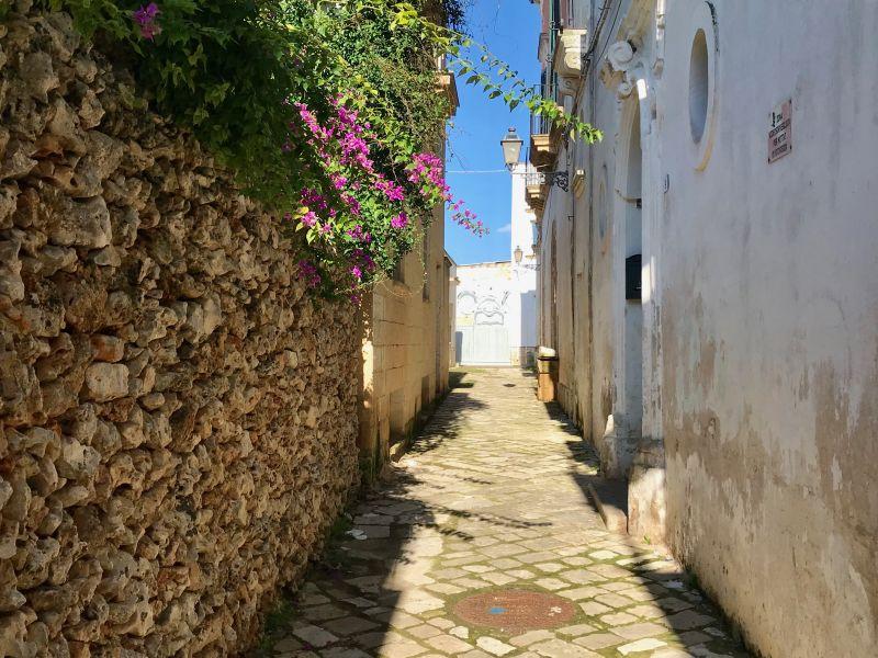 street in Racale Salento Puglia