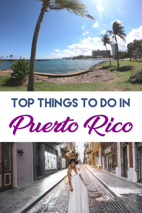 This 3-day Puerto Rico itinerary will give you the information you need for planning a perfect vacation. Find out where to eat, the best beaches, shopping and more top things to do in this handy itinerary #beach #caribbean #puertorico