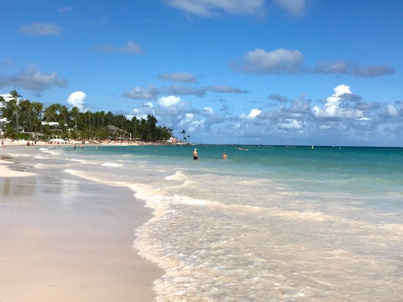 Bavaro Beach Dominican Republic January 2019