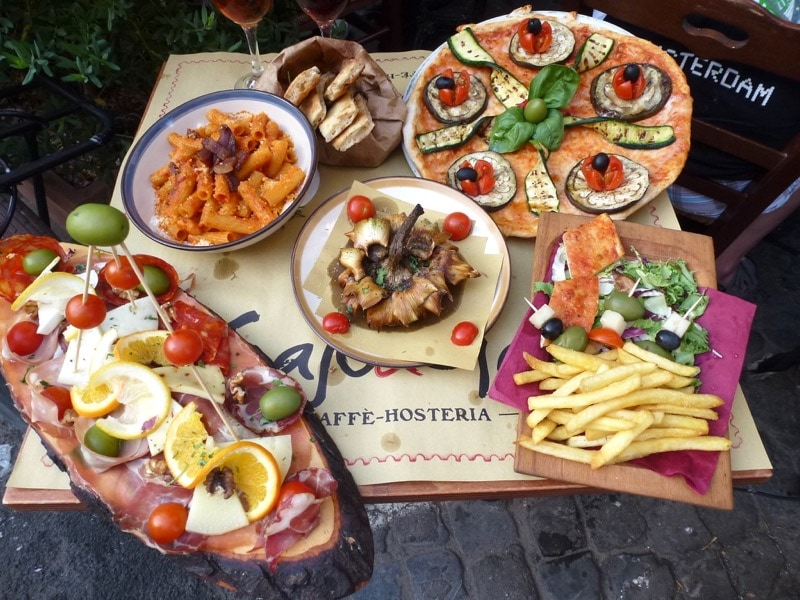 Eating Europe Food Tour in Rome