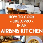 Love to cook and travel? Then you're likely to encounter a surprise or two when renting an Airbnb or vacation apartment. While having your own kitchen lets you live like a local and cook healthy meals, Airbnb essentials and standards vary widely. Be prepared for the unexpected with these travel tips #travel #hacks