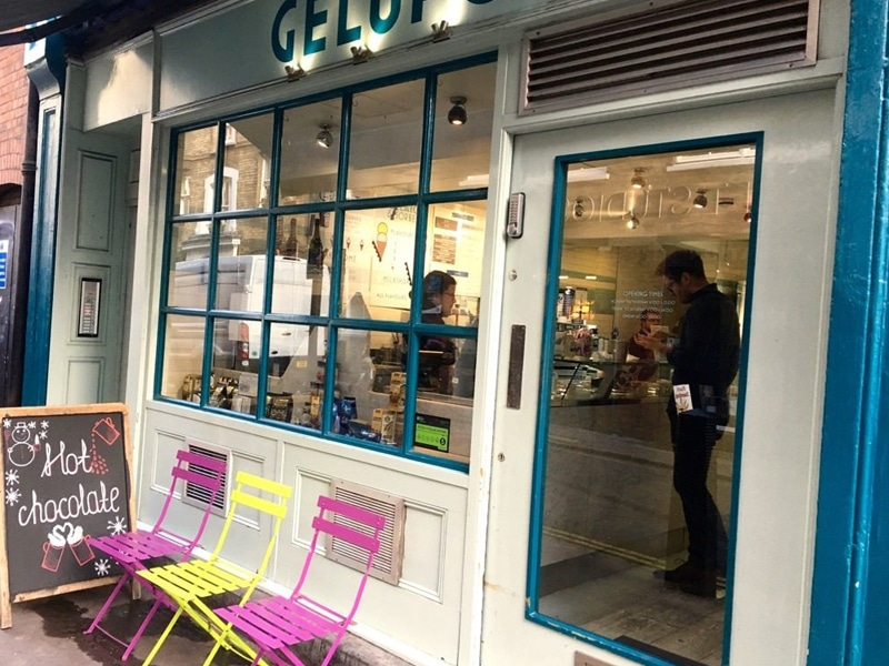 Gelato Gelup on London Food Tour Credit London Unattached