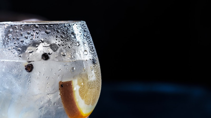 Glass with beverage Photo by Jez Timms on Unsplash