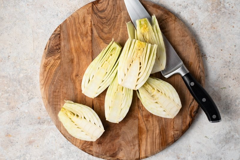Fresh Sliced Fennel