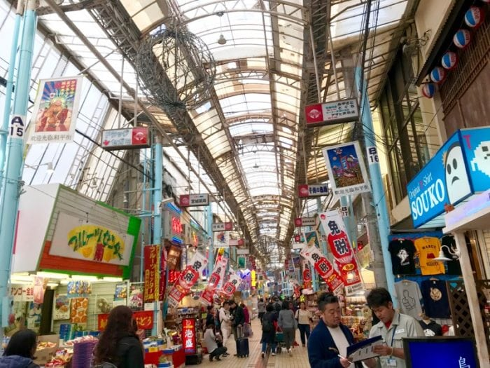 One of the top things to do in Naha is visit Makishi Public Market