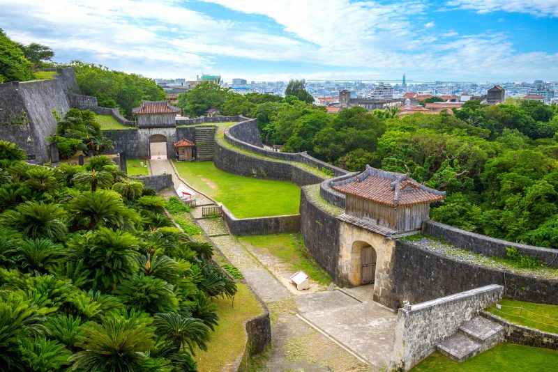 Shuri Castle Credit Deposit Photos