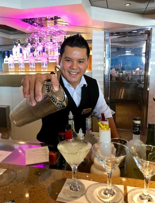 Mixology Class aboard Holland America's MS Volendam