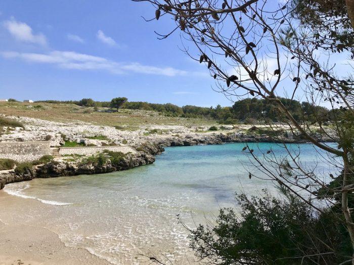 Porto Badisco Beach in Puglia