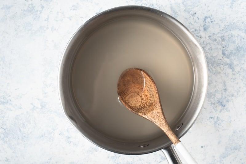Soak tapioca in cold water