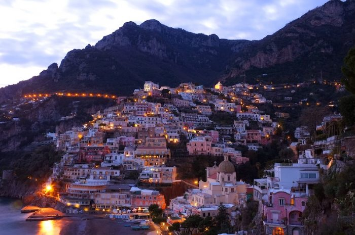 Romantic Positano at night Credit yoosun-won-unsplash