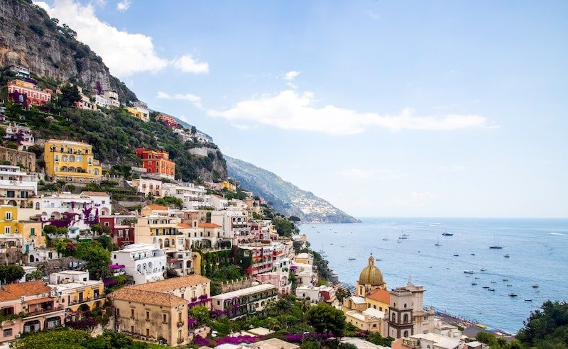 View of Positano Photo by Sander Crombach on Unsplash