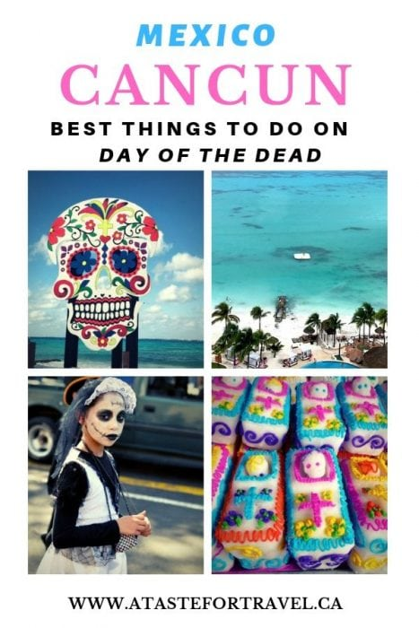 Day of the Dead in Cancun Pinterest
