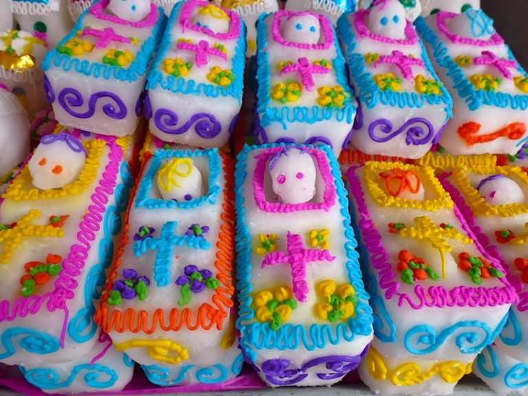 Day of the Dead sugar skulls in Mexico