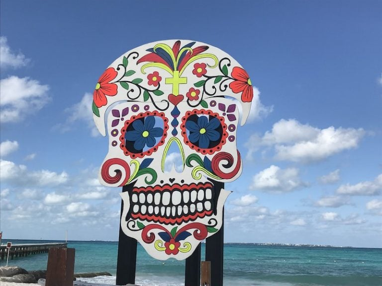 day of the dead cancun Mexico
