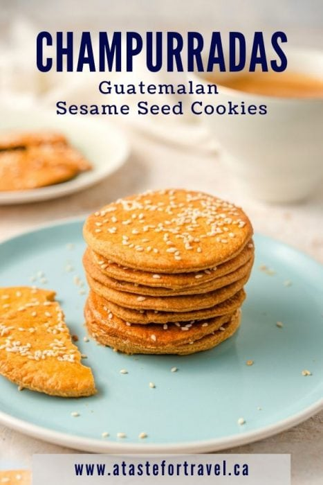 Easy Recipe for Champurradas Guatemalan Cookies