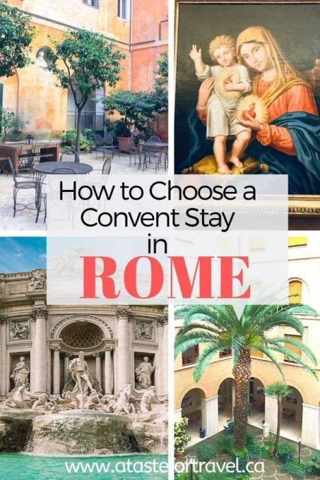 Convent Stay in Rome