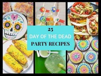 Collection of Day of the Dead Party Recipes