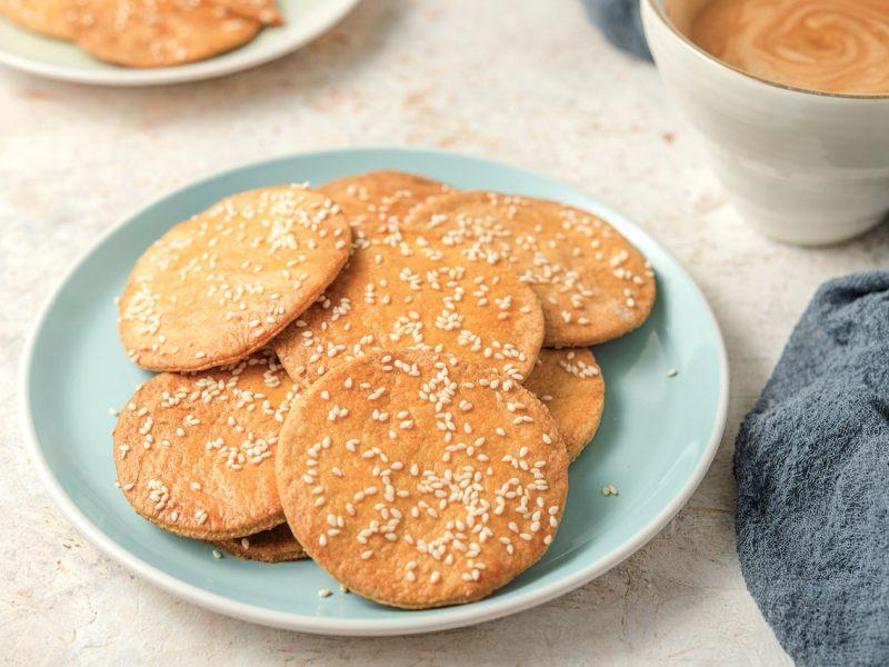 Champurradas Guatemalan Sesame Seed Cookies Full Size