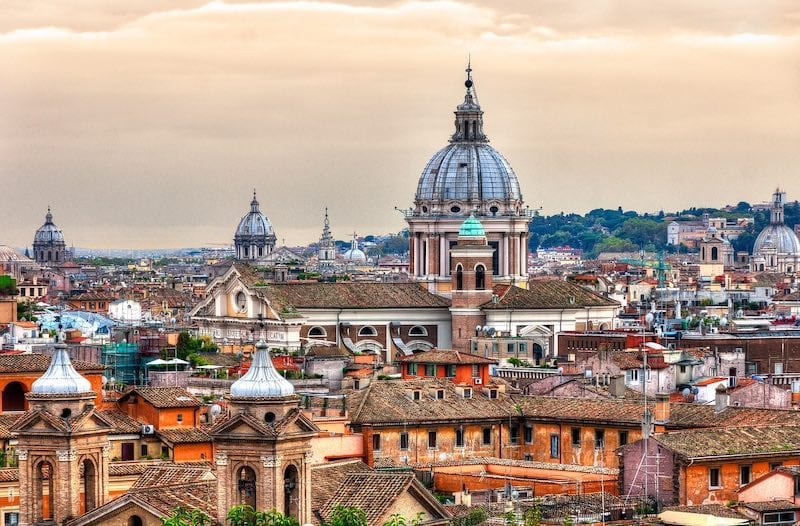 Skyline of Rome Credit Pixabay
