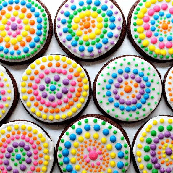 Day of the Dead Sugar Cookies by The Monday Box