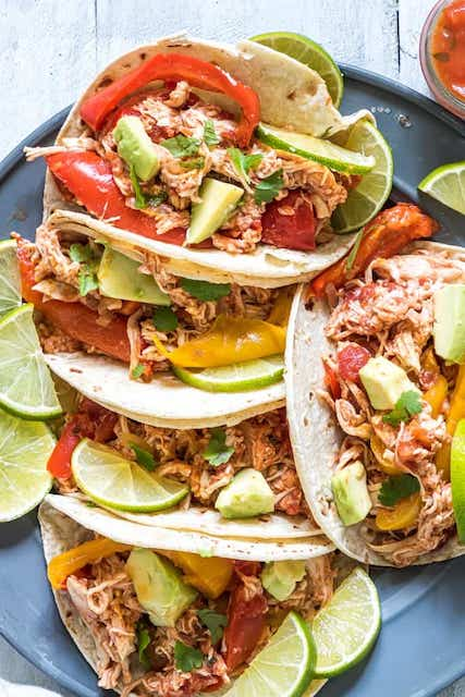 Instant Pot Chicken Fajita Credit Recipes from a Pantry