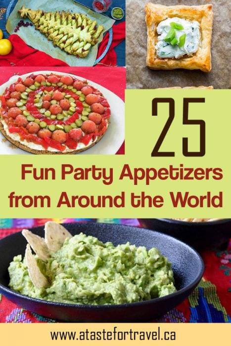25 Fun Global Appetizers