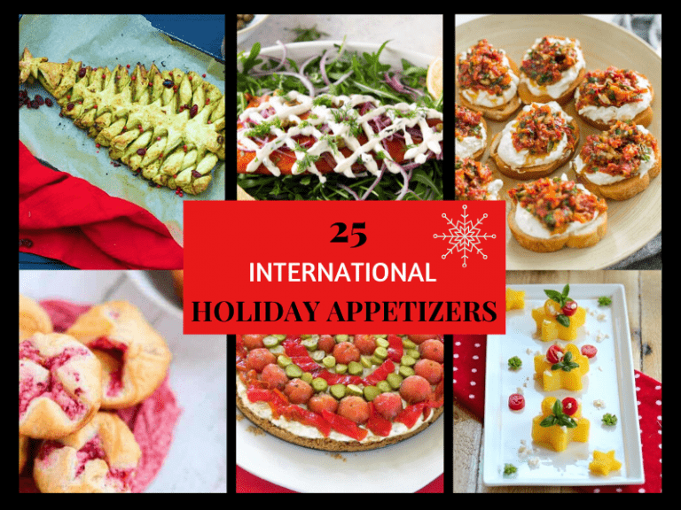 International Holiday Appetizers