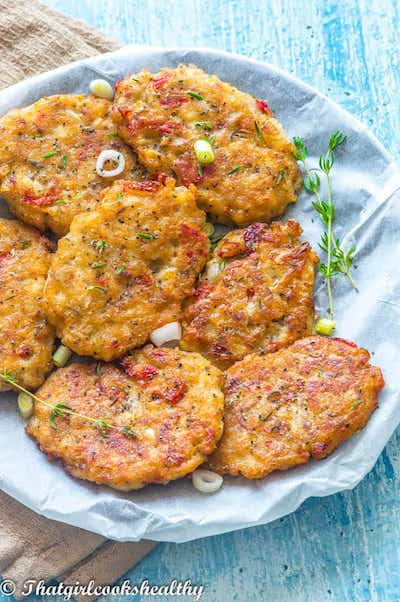 Saltfish Fritters Credit That Girl Cooks Healthy