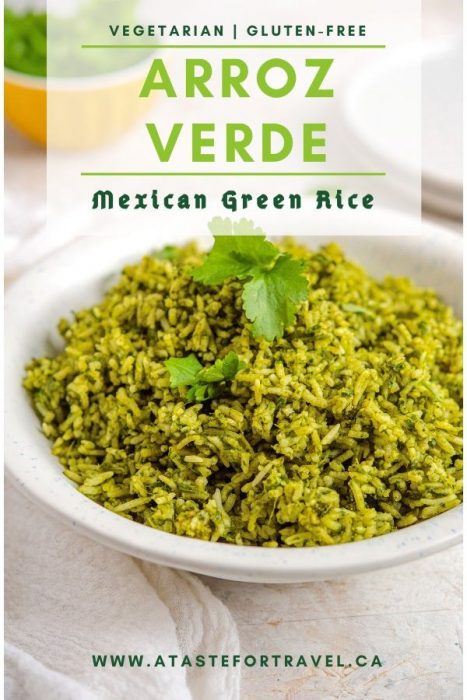 Arroz Verde - a Mexican Green Rice