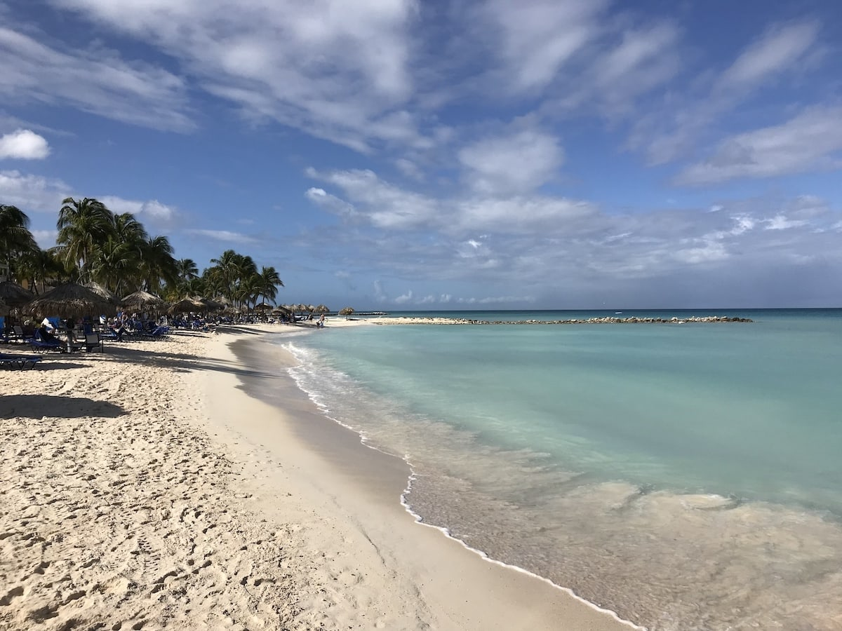 Beautiful Beach in Aruba Credit Francisco Javier Sanchez
