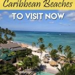 Caribbean Beaches with no seaweed