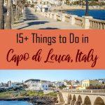 Capo di Leuca Puglia Italy