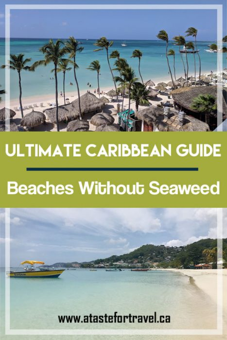Beast Beaches with No Sargassum seaweed in Caribbean