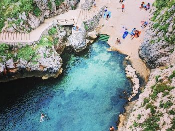 Swim at Ciolo Bridge
